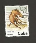Sellos de America - Cuba -  Equinos