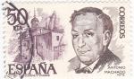 Stamps Spain -  Antonio Machado-poeta  (8)