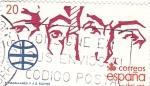 Stamps Spain -  Magallanes y Elcano  (8)