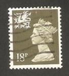 Sellos de Europa - Reino Unido -  1255 - Elizabeth II, emisión regional de Pais de Gales