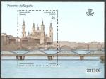 Stamps Spain -  Puente del Pilar, Zaragoza