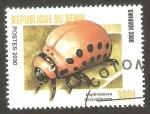 Stamps : Africa : Benin :  Leptinotarsa decemlineata
