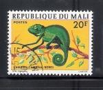 Sellos de Africa - Mali -  Camaleón, nonsi