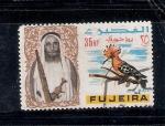 Sellos de Asia - Emiratos Árabes Unidos -  Abubilla