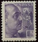 Stamps Spain -  ESPAÑA 877 GENERAL FRANCO