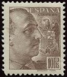 Stamps Spain -  ESPAÑA 878 GENERAL FRANCO