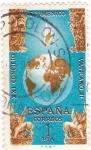 Sellos de Europa - España -  XXV Congreso Vaticano  (8)
