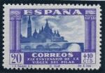 Stamps Spain -  ESPAÑA 891 XIX CENTENARIO DE LA VENIDA DE LA VIRGEN DEL PILAR A ZARAGOZA