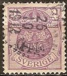 Sellos del Mundo : Europa : Suecia : Pequeño escudo de armas.