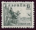 Stamps Spain -  ESPAÑA 918 CIFRAS Y EL CID