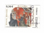 Sellos del Mundo : Europa : España : La adoración de los Reyes Magos.Catedral de Salamanca