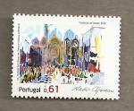 Stamps Portugal -  Procesión en Venecia