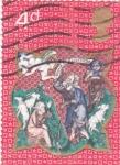 Stamps United Kingdom -  La Anunciación