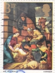 Sellos de Europa - Reino Unido -  Adoración del Niño Jesús