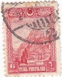 Sellos de Asia - Turquía -  Panorámica de Ankara Kalesi