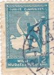 Stamps Turkey -  Defensor nacional