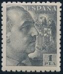 Sellos de Europa - España -  ESPAÑA 930 GENERAL FRANCO Y ESCUDO DE ESPAÑA