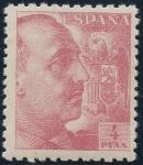 Sellos de Europa - España -  ESPAÑA 933 GENERAL FRANCO Y ESCUDO DE ESPAÑA