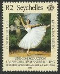 Sellos del Mundo : Africa : Seychelles : La Giselle de Adolphe Adam