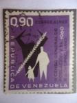 Stamps Venezuela -  IX Censo General de Población y el III Agropecuario