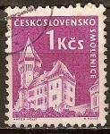 Sellos del Mundo : Europa : Checoslovaquia : Castillo (Smolenice).