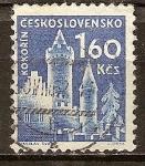 Sellos de Europa - Checoslovaquia -  Castillo (Kokorin).