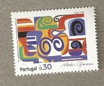 Stamps Portugal -  Horus