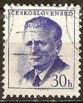 Sellos del Mundo : Europa : Checoslovaquia : Presidente Novotny.