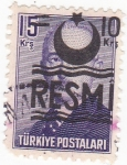 Stamps : Asia : Turkey :  Presidente Ismet Inönü