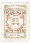 Stamps Turkey -  Cifras