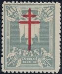 Stamps Spain -  ESPAÑA 959 PRO TUBERCULOSOS 1942
