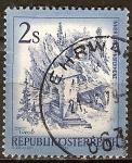 Sellos del Mundo : Europa : Austria : Antiguo puente, Finstermünz,Tyrol.