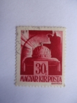 Stamps Hungary -  Corona Real- St. Etienne (Yvert y Tillier 622)