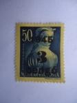Stamps Hungary -  Dorotea Kanizsa -Kanizai Dorottya.(1490-1532) Heroína.