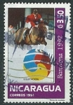 Sellos del Mundo : America : Nicaragua :  Equitacion