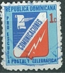 Stamps of the world : Dominican Republic :  Pro escuela postal y telegráfica