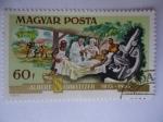 Stamps Europe - Hungary -  Albert Schweitzer 1875-1965 -Magyar Posta