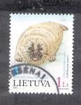 Sellos del Mundo : Europa : Lituania : Foca báltica gris: Halicherus grypus