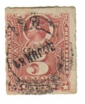 Stamps America - Chile -