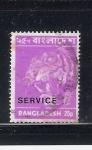Stamps Bangladesh -  Tigre
