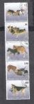Sellos de Asia - Tayikistán -  Perros