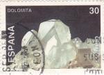 Stamps : Europe : Spain :  MINERALES DE ESPAÑA- DOLOMITA  (9)