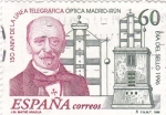 Stamps : Europe : Spain :  150 ANIVERSARIO DE LA LÍNEA TELEGRÁFICA (9)