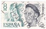 Stamps Spain -  JOSÉ CEARA- ESCULTOR  (9)