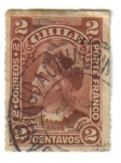 Stamps Chile -  Colón: