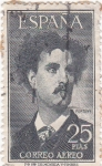 Stamps Spain -  FORTUNY -PINTOR  (9)