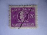 Sellos del Mundo : Europa : Italia : Entrega Autorizada (Recapito Autorizzato) - Poste Italiane