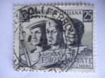 Stamps of the world : Italy :  Giornata Delle - Forze Armate República Italiana