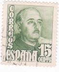 Stamps : Europe : Spain :  GENERAL FRANCO  (9)
