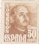Stamps : Europe : Spain :  GENERAL FRANCO  (9)